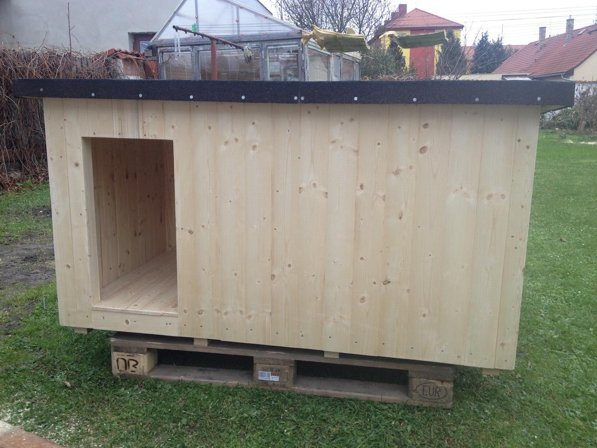 psí bouda pro německého ovčáka
